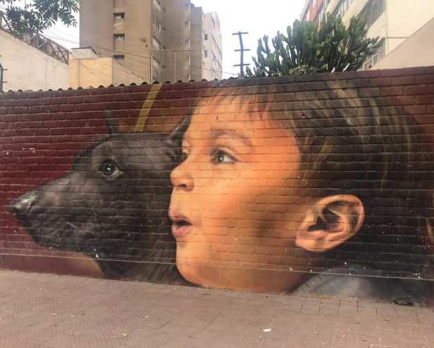 Lima Dog Mural